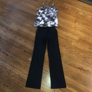 Nike pants and tank top outfit